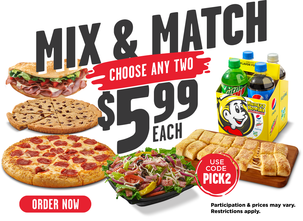 Mix & Match choose any two $5.99 each. Use code PICK2. Participation & prices may vary. Restrictions apply