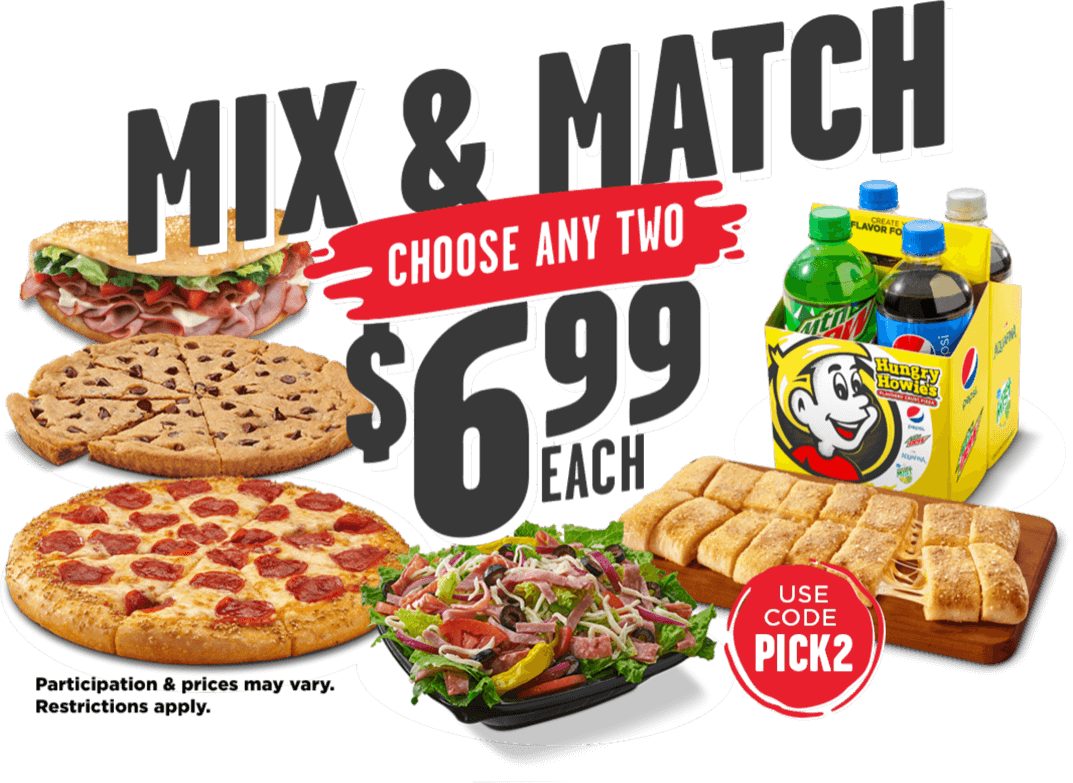 mix & Match choose any two $6.99 each. Use code PICK2. Participation & prices may vary. Restrictions apply
