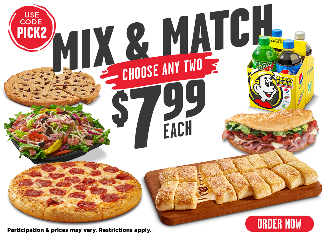 Mix & Match. Pick any 2 for $7.99 each