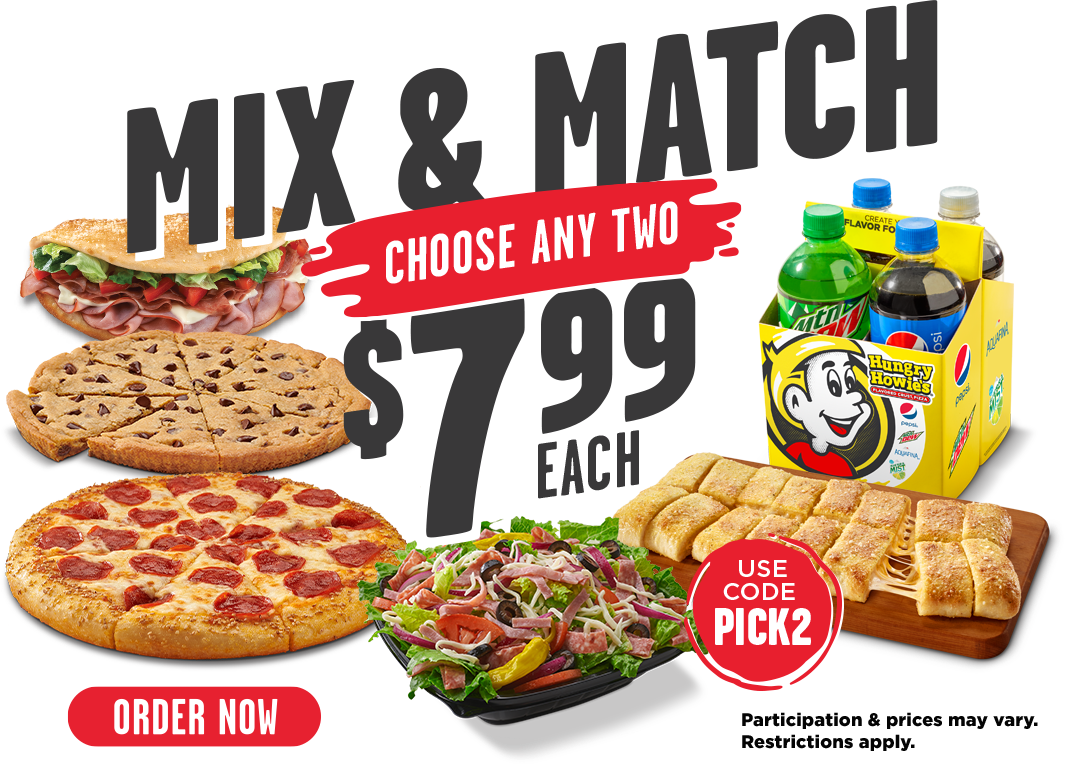 Mix & Match choose any two $7.99 each. Use code PICK2. Participation & prices may vary. Restrictions apply