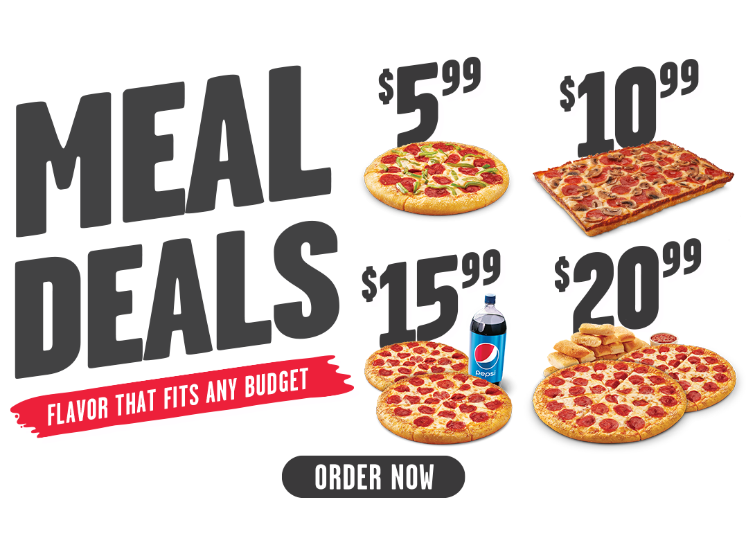 Meal Deals, Flavor that fits any budget